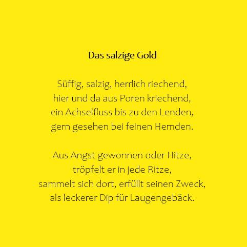 Das salzige Gold
